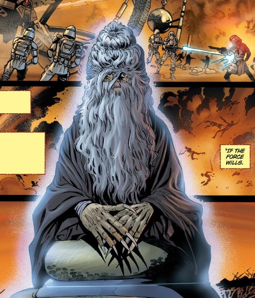Боевая медитация Погружаясь в медитацию, джедай или ситх безмерно расширяет свое восприятие. В таком