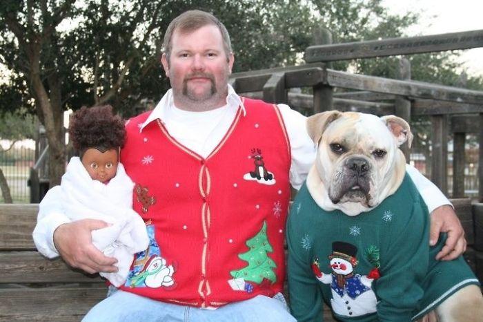 Лучшее семейное рождественское фото!