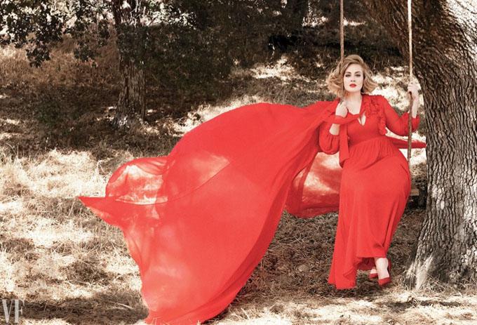 Адель в Vanity Fair (8 фото)