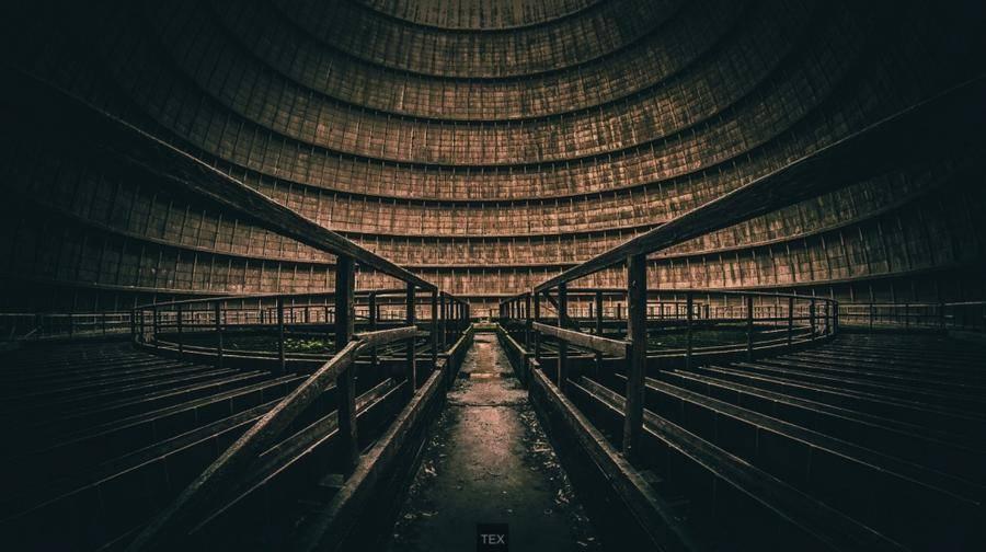 17. Заброшенная электростанция, Бельгия.