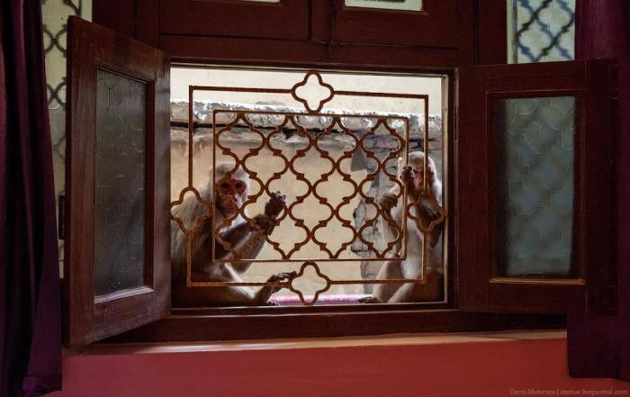 В Варанаси большинство отелей и гостевых домов для туристов расположены вдоль набережной, куда запре