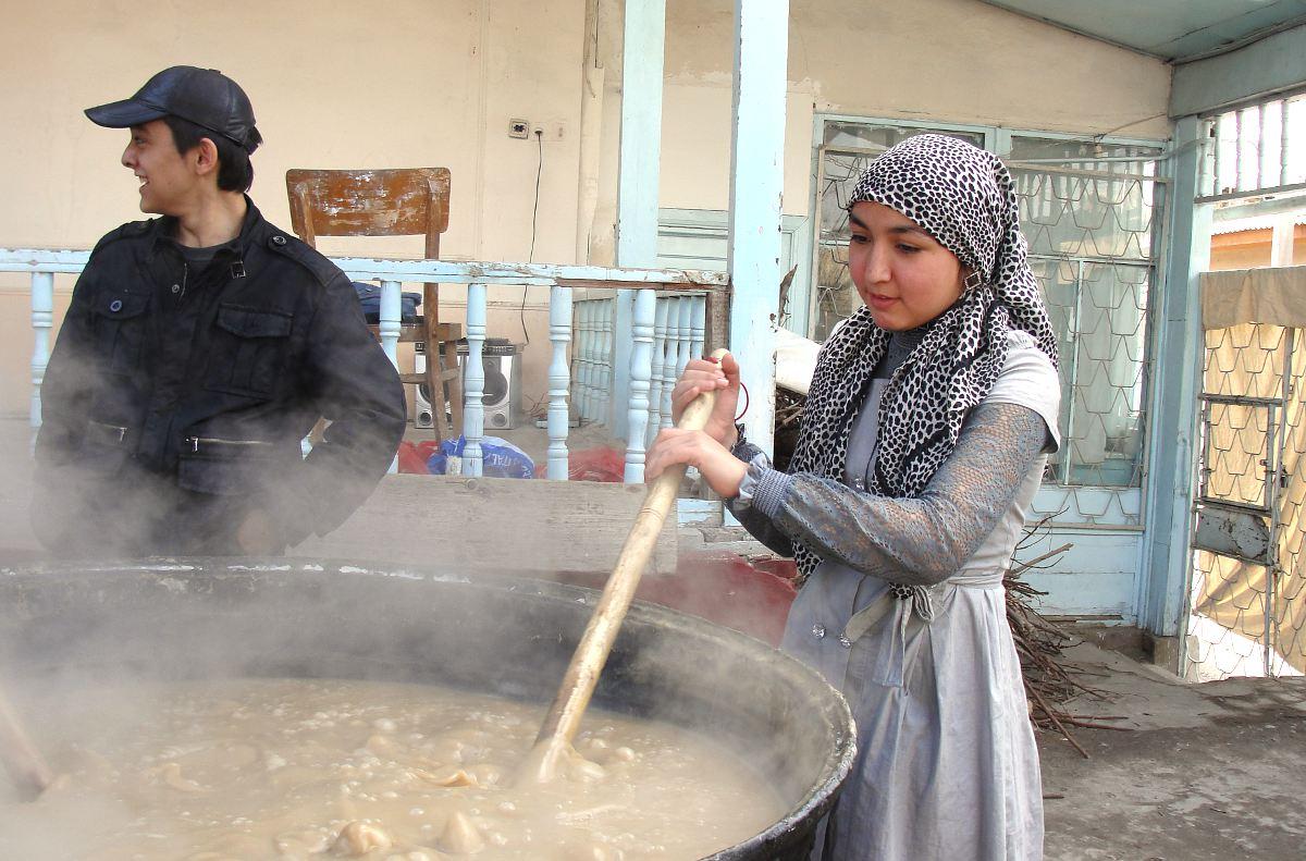Уникальный район Ташкента со своей атмосферой, тот самый теплый Ташкент, принявший немало переселенц