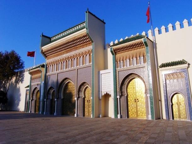 19. Дар-аль-Махзен, Марокко Дар-аль-Махзен является официальной резиденцией короля Марокко.