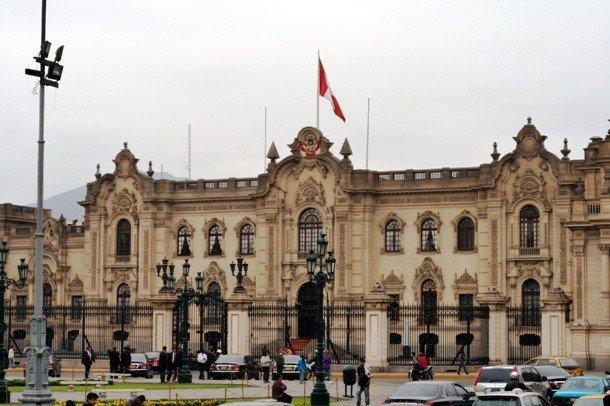 20. Правительственный дворец, Перу Этот дворец, ранее бывший штаб-квартирой правительства Перу, изве