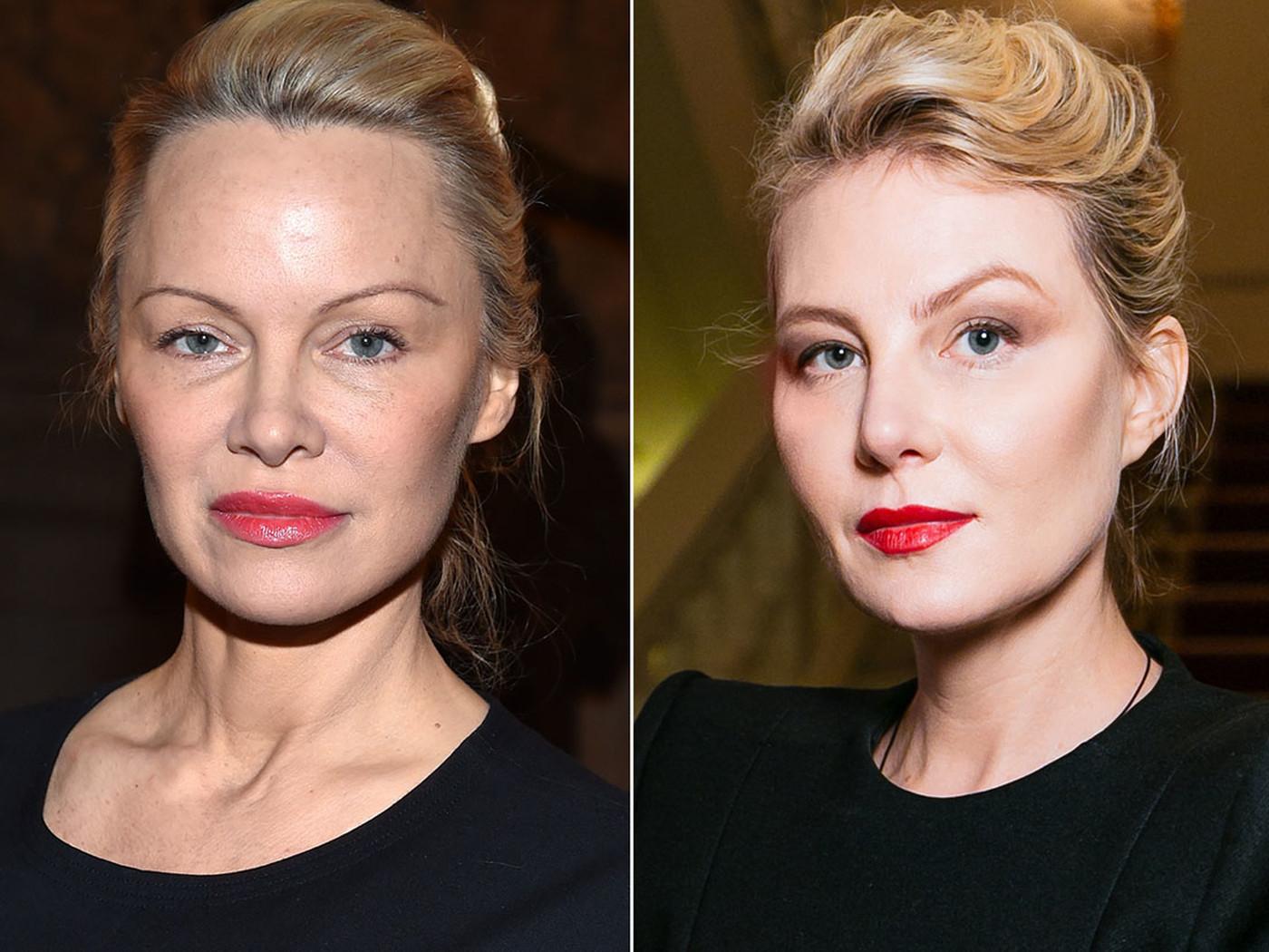 Памела Андерсон и Рената Литвинова, 1967 года рождения (50 лет) Памела Андерсон сейчас выглядит совс