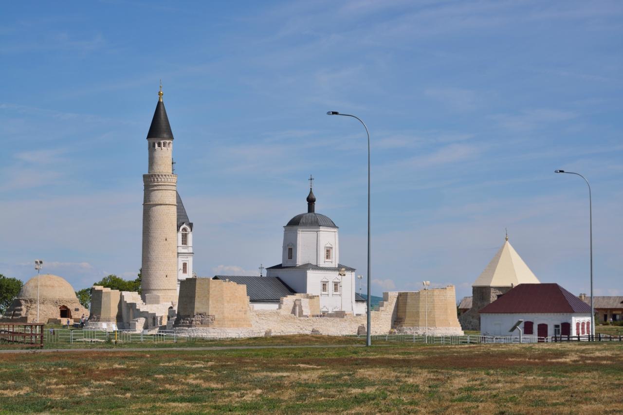 Древний город Болгар, столица Волжской Булгарии