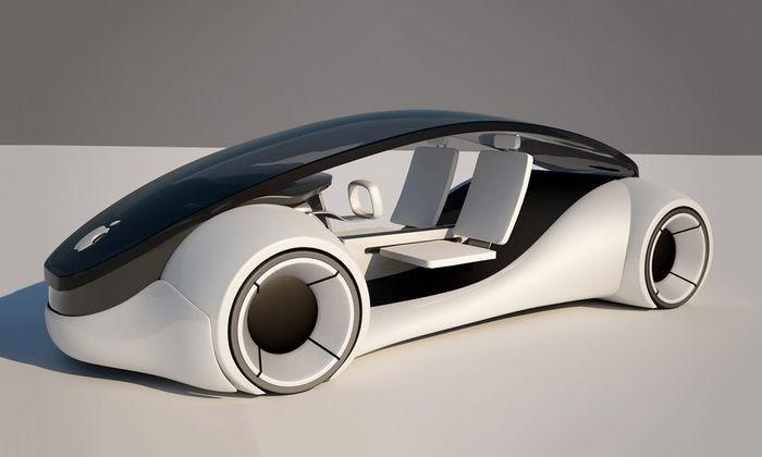 ВApple работают над созданием беспилотного автомобиля