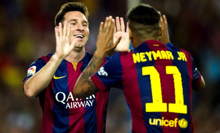 """Неймар: «Хочу, чтобы в2016г. """"Барселона"""" снова оформила требл»"""