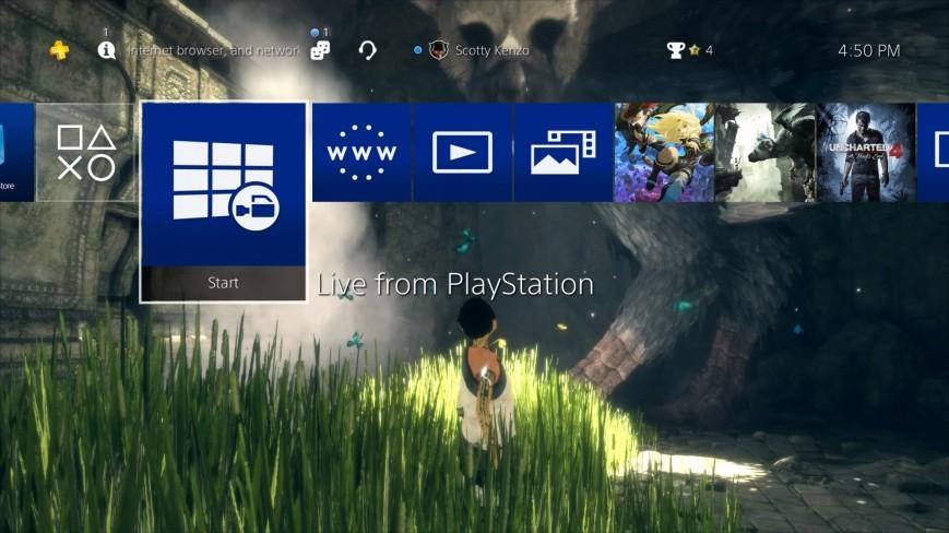 Свежее обновление PS 4 прибавит поддержку внешнего жёсткого диска