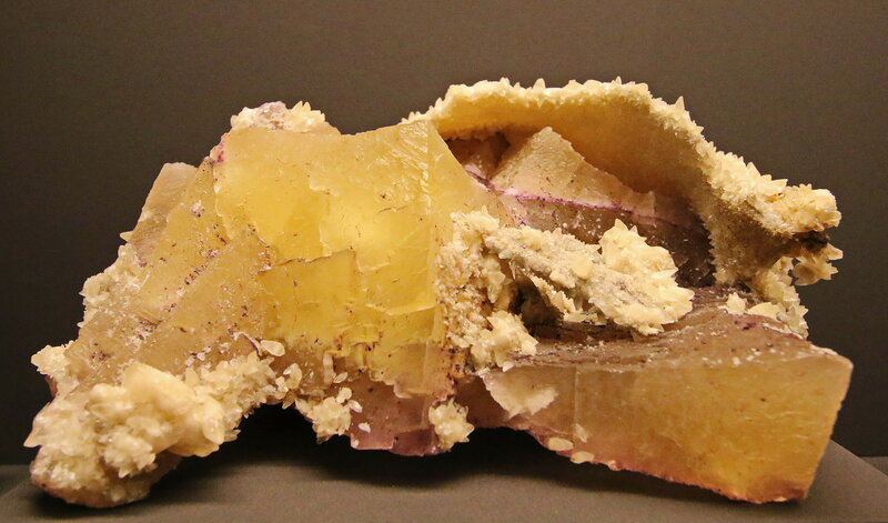 Fluorit, Calcit. USA...2H1A6857ОВ.JPG