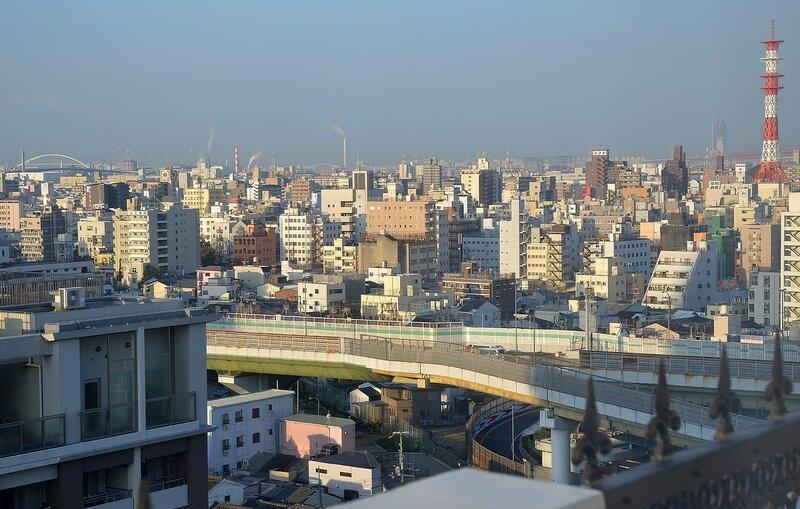 Осака из окна.JPG