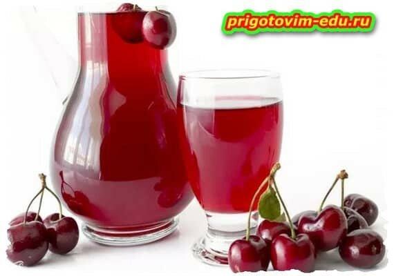 Вишневый напиток