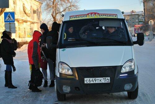 маршрутка Куйбышев-Барабинск