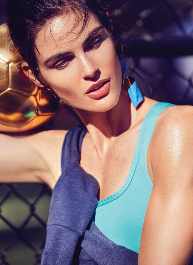 Hilary Rhoda Slays the Day for Cosmopolitan December 2016 Issue