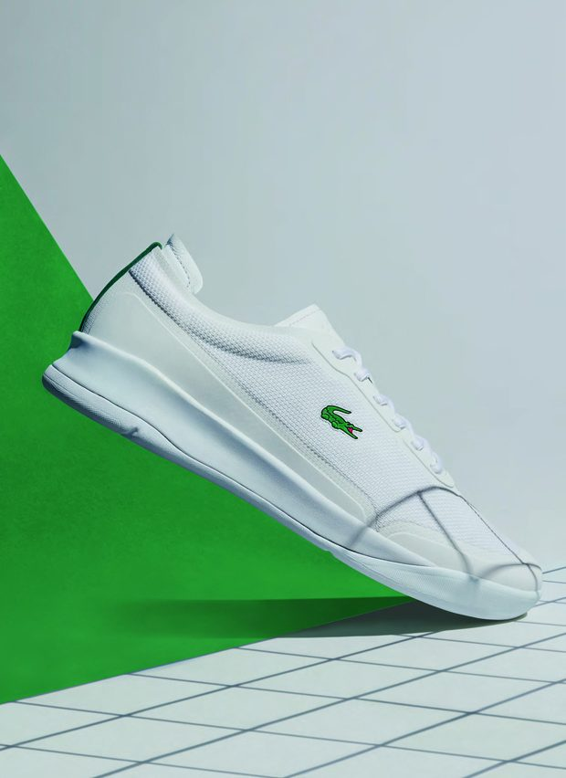 Worth of mentioning is also the fact Lacoste's pique pattern has been reinterpreted in an incredibly
