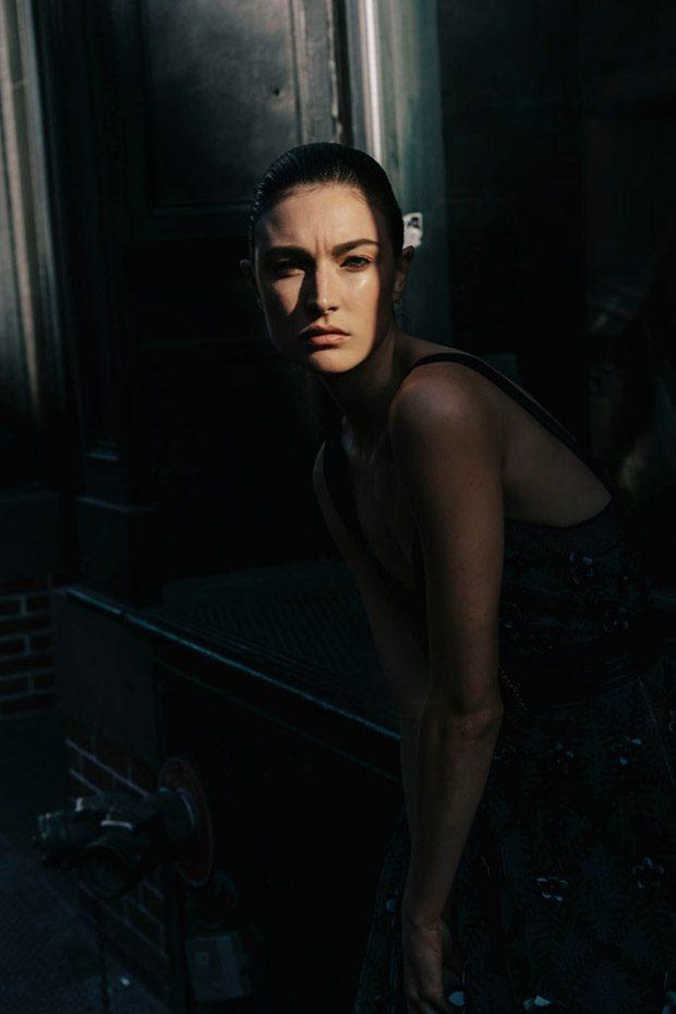 Before Sunrise: Jacquelyn Jablonski Stars in Harper's ...