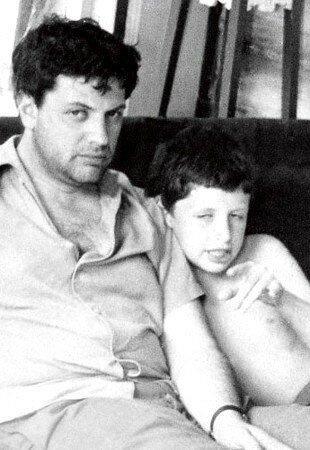 А.Ширвиндт с сыном Мишей