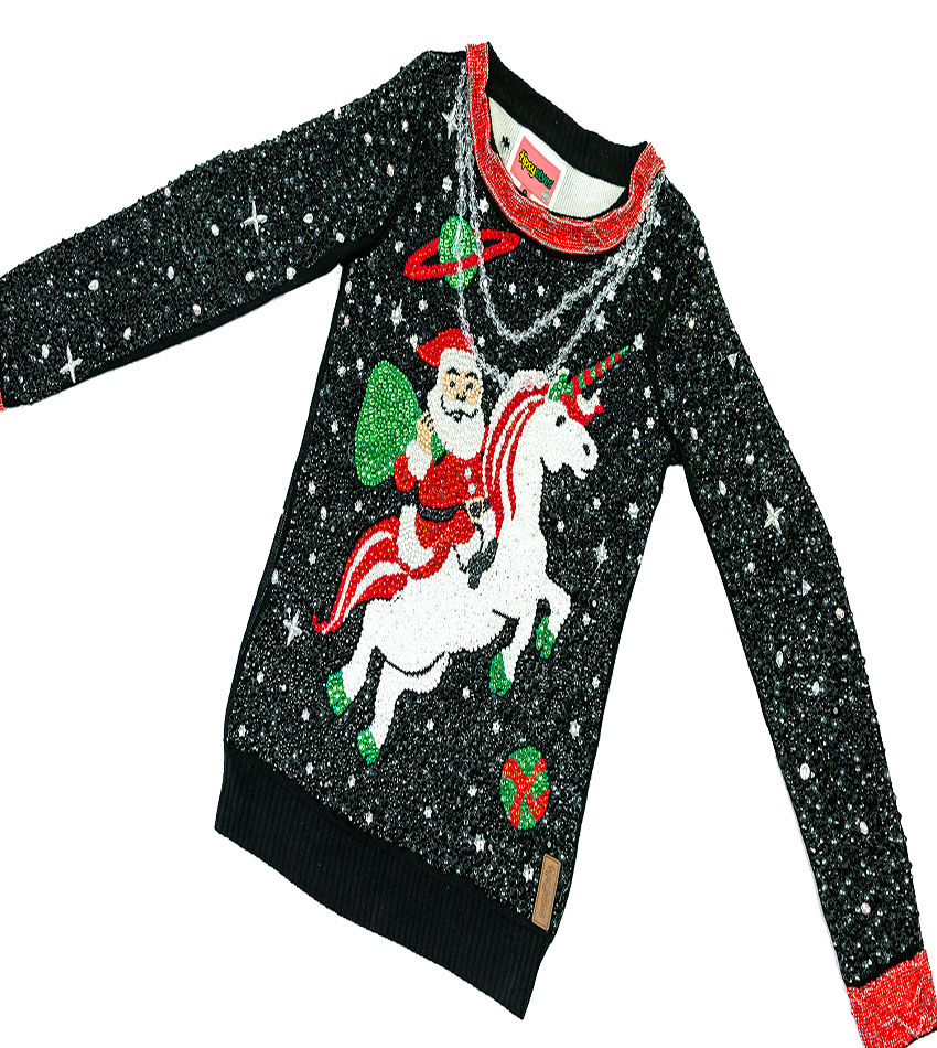 The most expensive Christmas sweater for $ 30,000