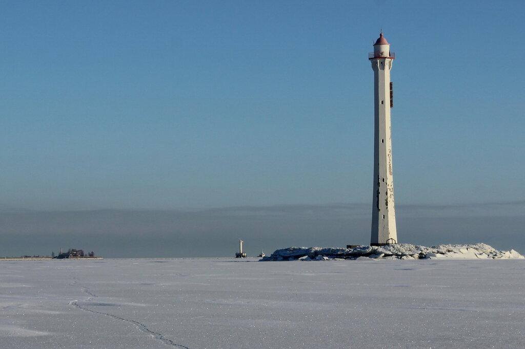 Задний Створный маяк Санкт-Петербургского Морского канала