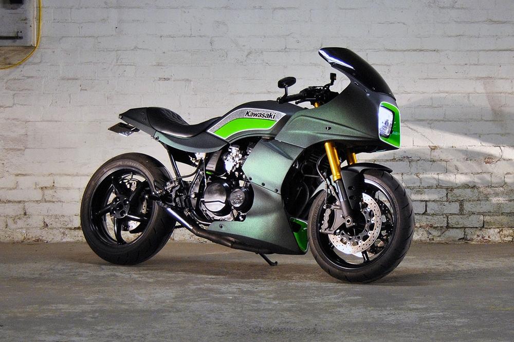 Пол Хатчинсон: Kawasaki GPZ750 Saki Racer