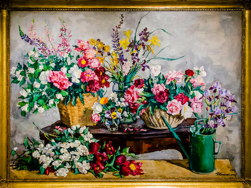"Петр Кончаловский - ""Всякие цветы"" (1939). Музей Русского импрессионизма (Москва)."