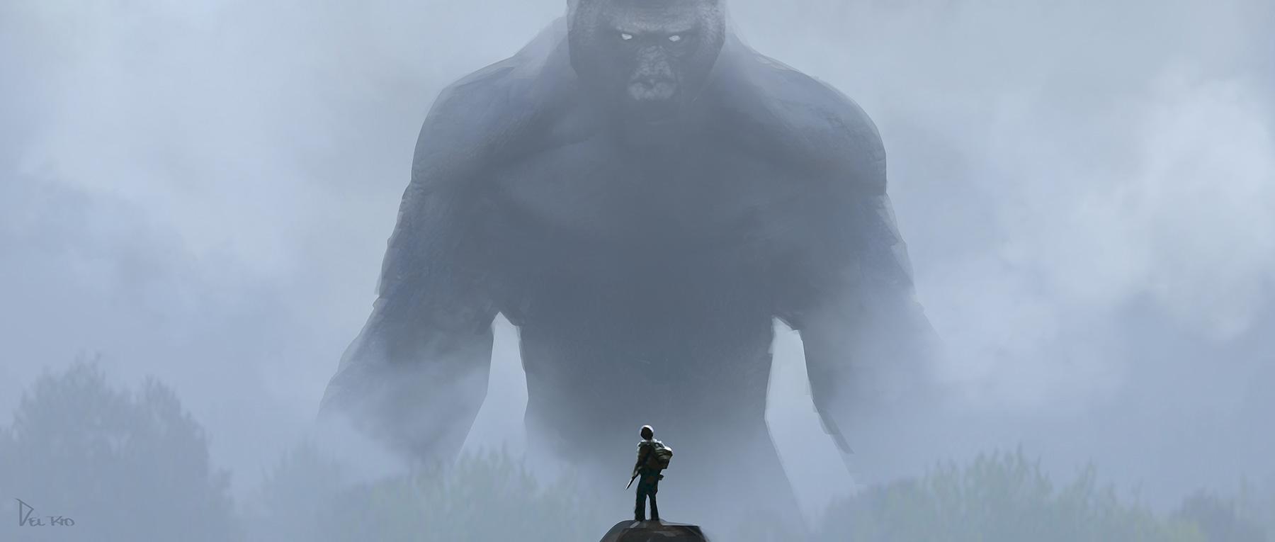 Kong: Skull Island Concept Art by Eddie Del Rio
