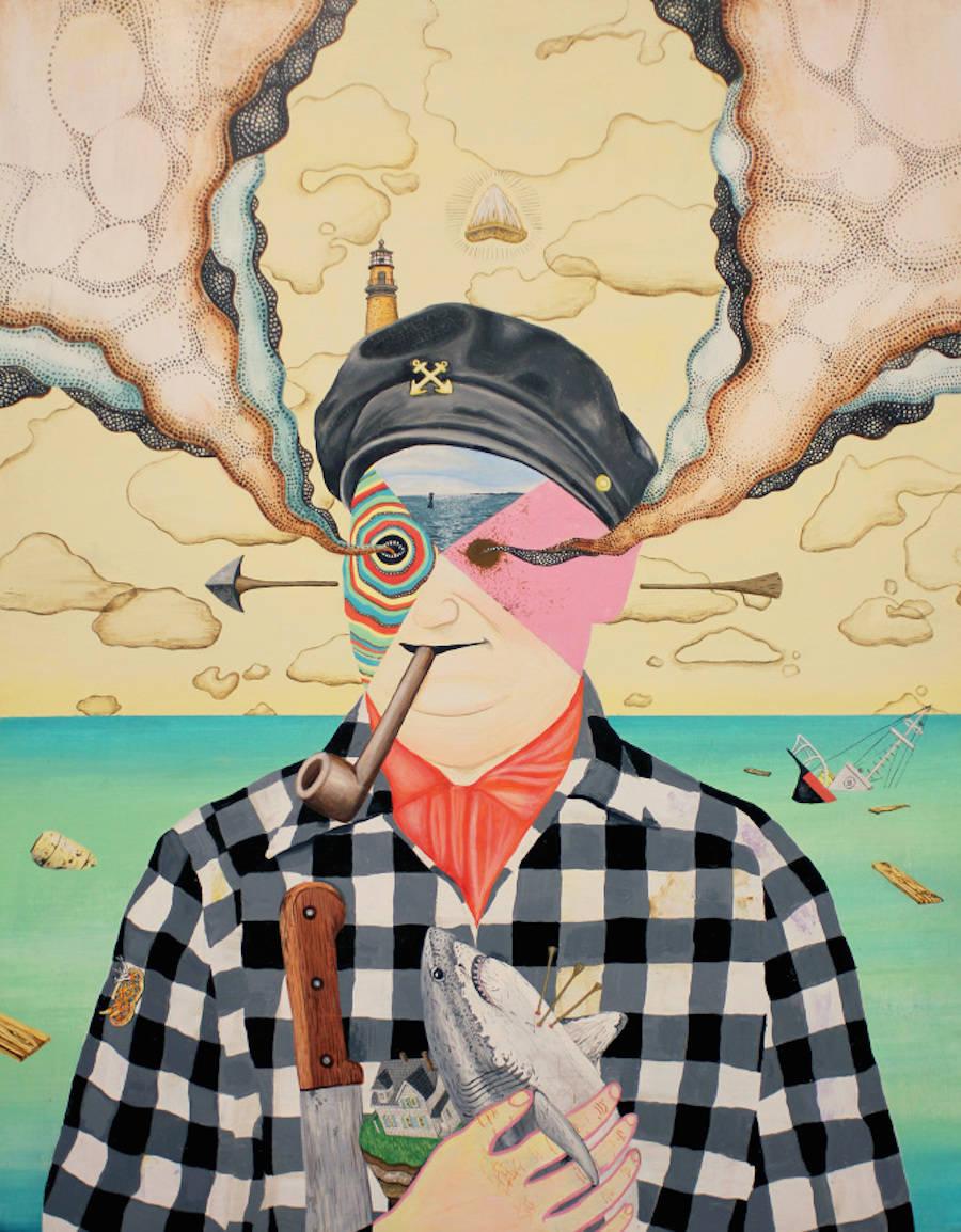 Vibrant Murals & Illustrations Exploring Unseen Realities