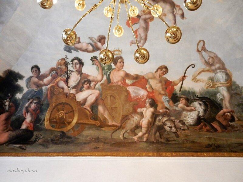 Вторая фреска в зале № 8