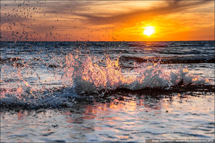 Брызги моря