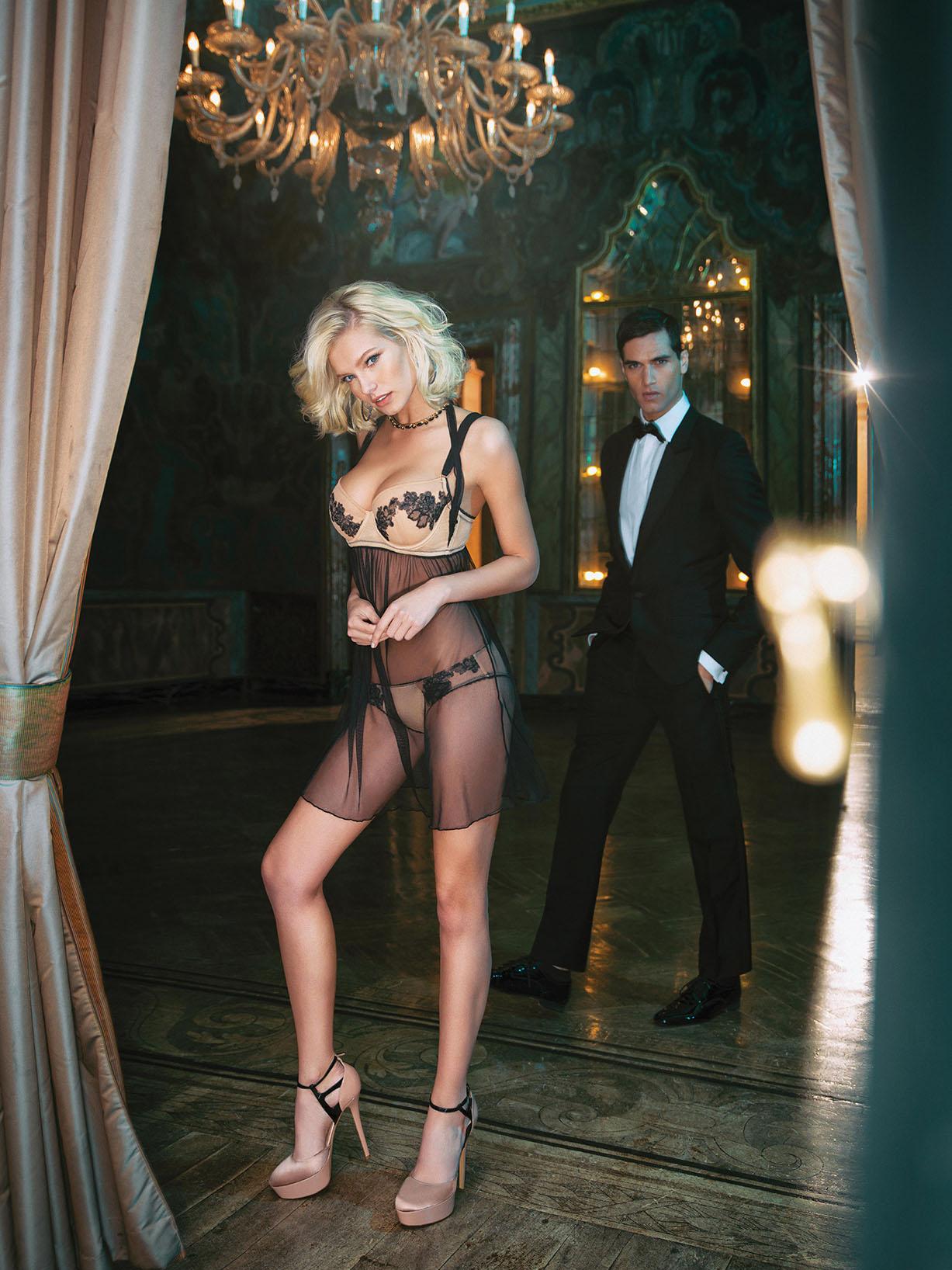 Gintare Sudziute / Гинтаре Судзюте в нижнем белье Incanto Very Sexy 2016