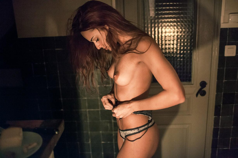 расслабляемся с беспечной Элией Ка / Eliya Ca nude by Aurelien Buttin - Carefree