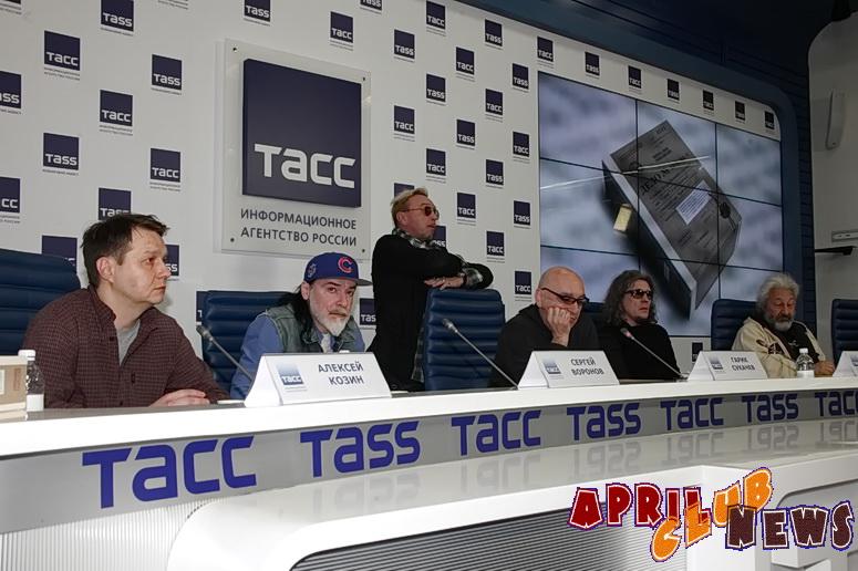 Гарик Сукачев, Сергей Галанин, Сергей Воронов, Стас Намин, Алексей Козин