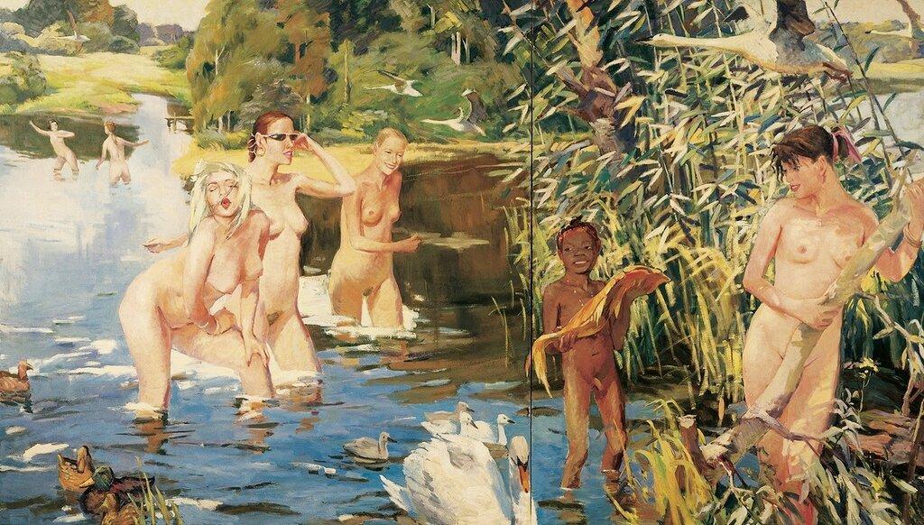 эротика в картинах соцреализма