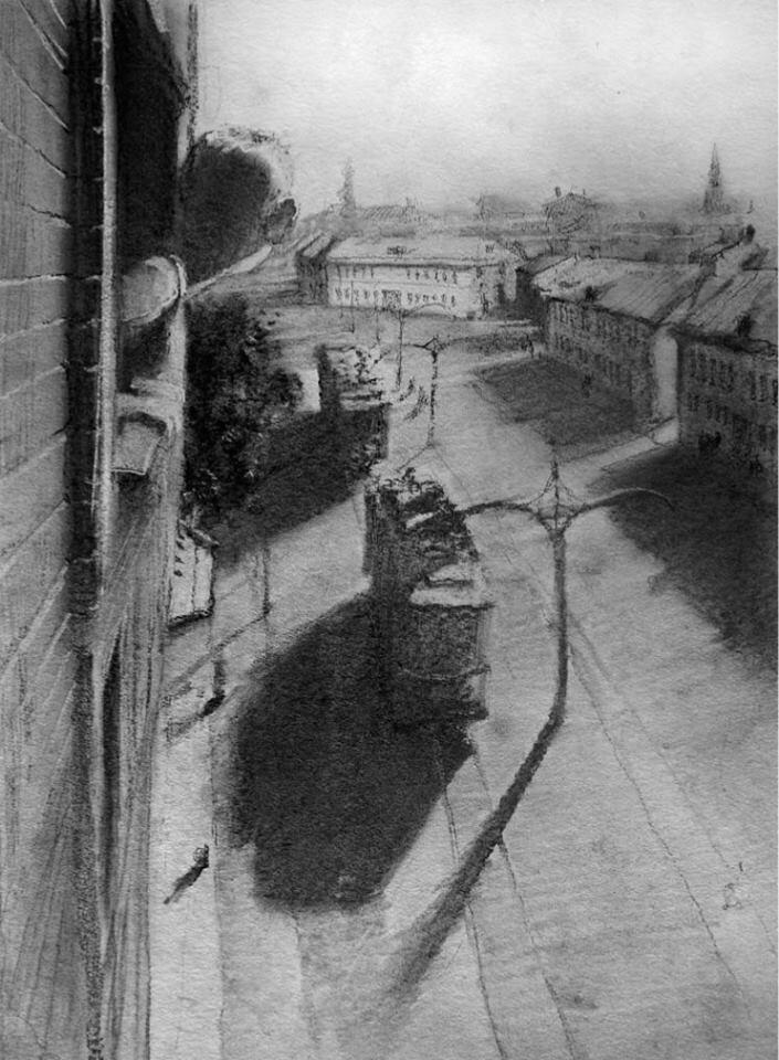 Иллюстрации Кирилла Челушкина к книге Король с Арбата В. Чачина2.jpg