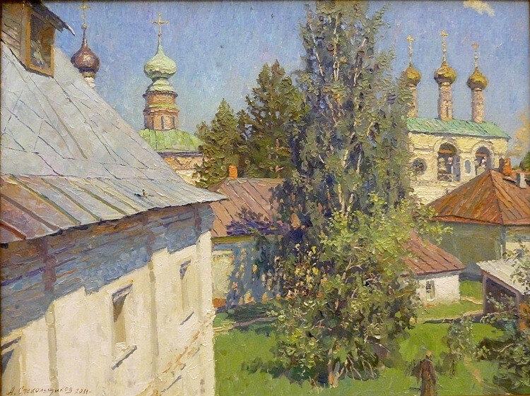 А.В. Стекольщиков - Радостный день в монастыре, 2011.jpg