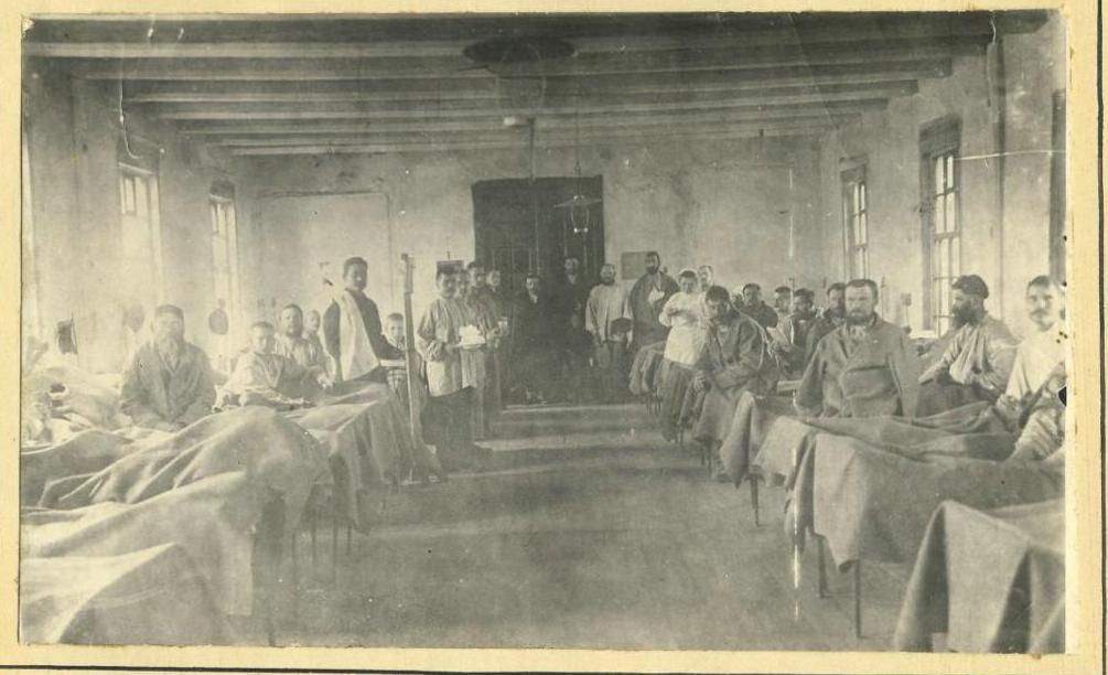 В лазарете Александровской тюрьмы