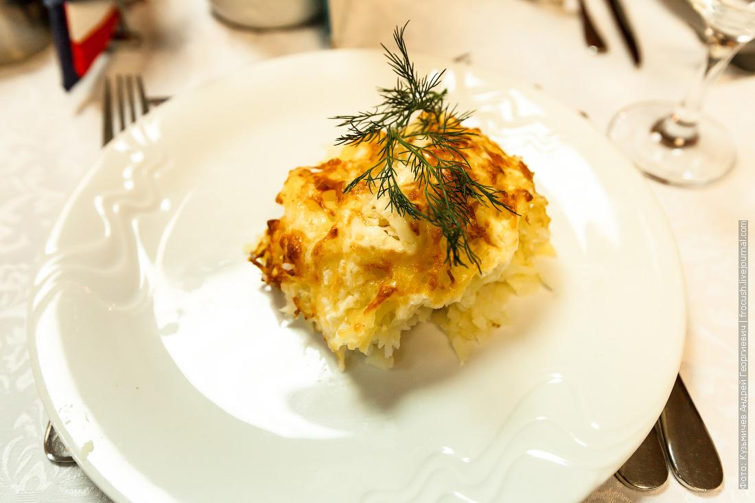 Филе минтая в картофельной шубке