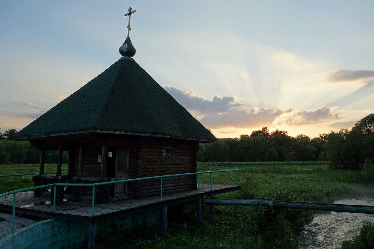 купальня у р. Упа близ села Нарышкино
