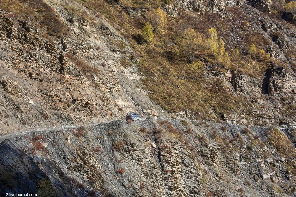 На шинах Viatti по Грузии. Сванетия. Дорога в Ушгули