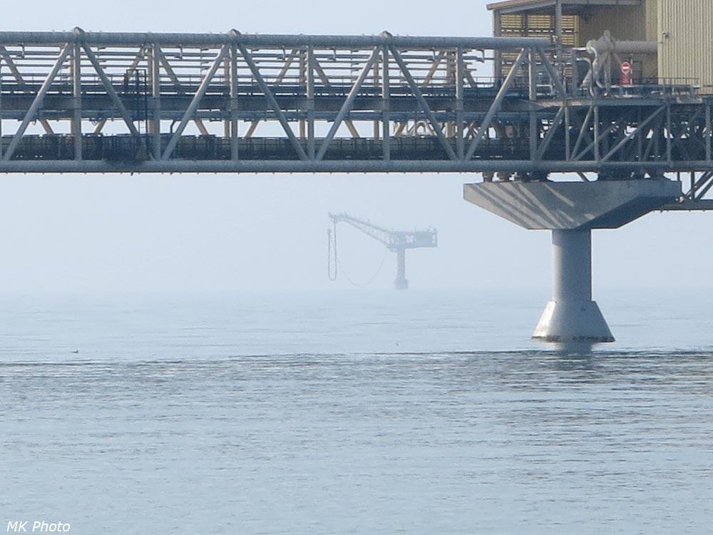Добыча газа в заливе Анива