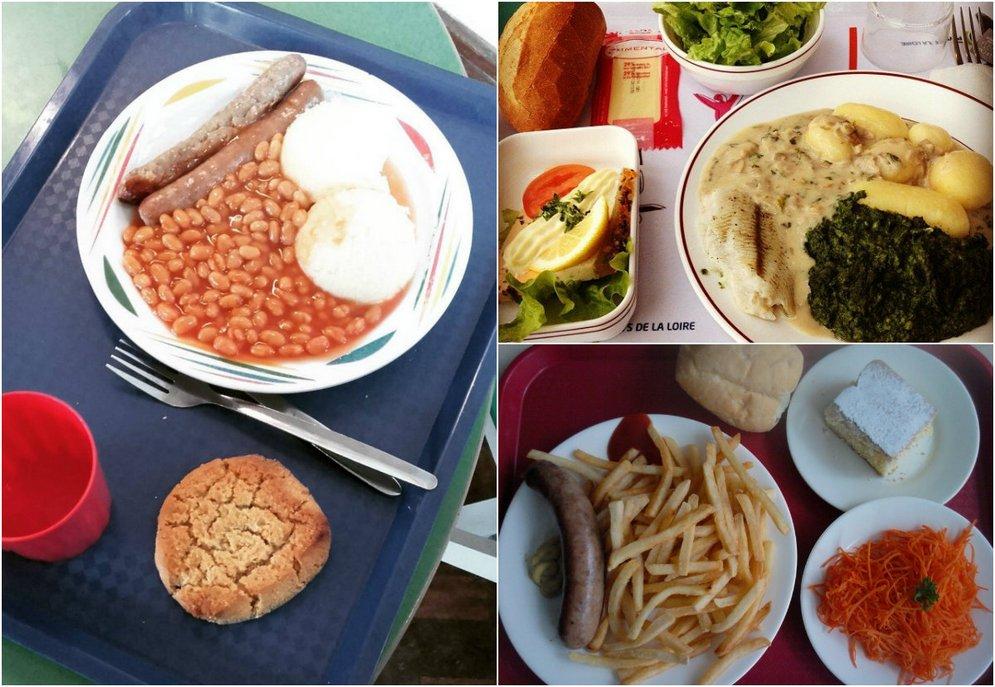 Школьные обеды разных стран