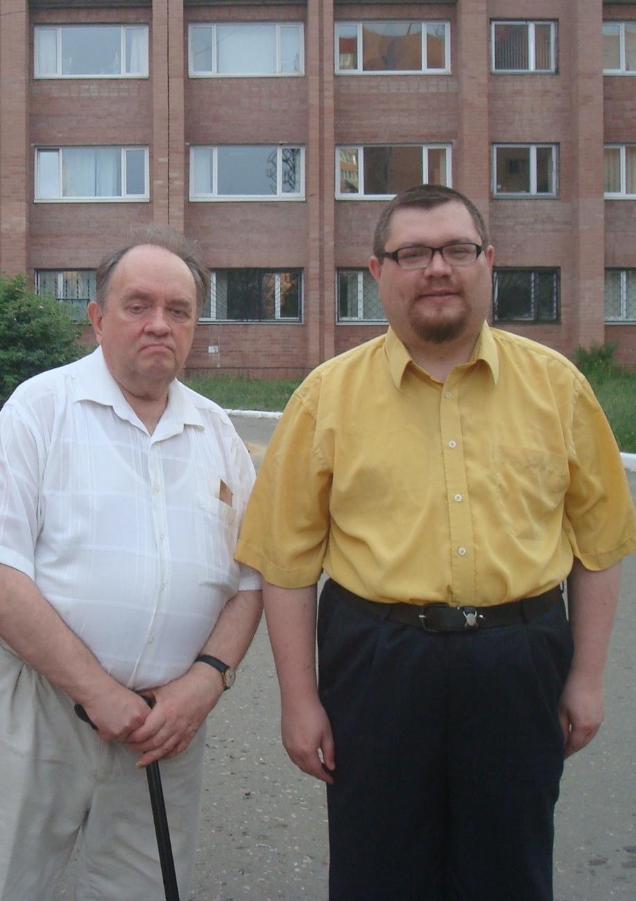 октября ноября скончался мой научный руководитель  Май 2013 г Воронеж комплекс новых корпусов ВГУ После защиты моей кандидатской диссертации