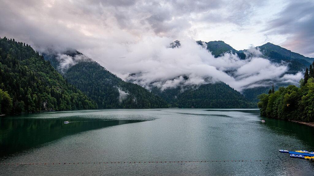 предполагается расширение озеро рица вид сверху фото отметить