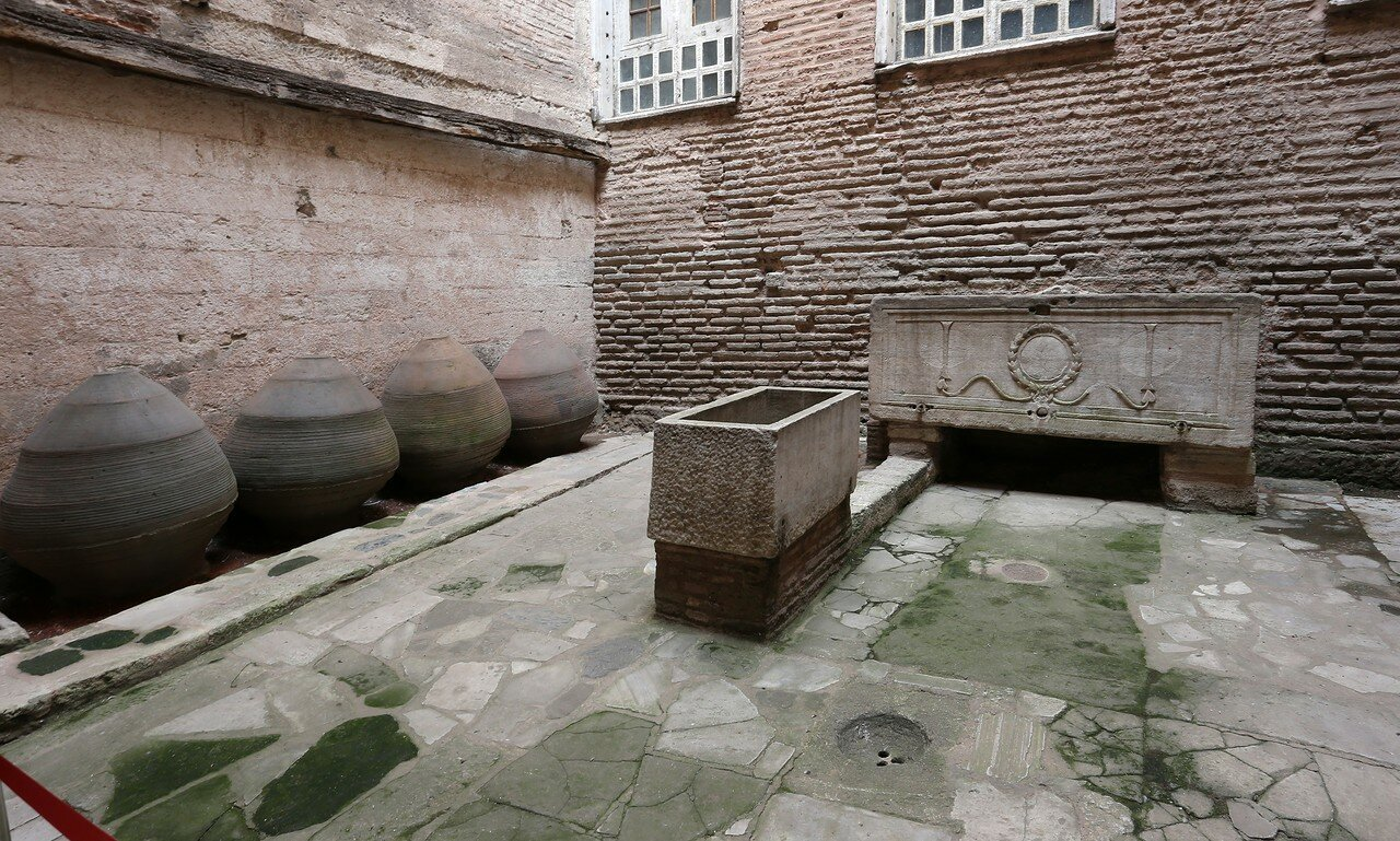 Istanbul. Hagia Sophia Cathedral. Baptistery