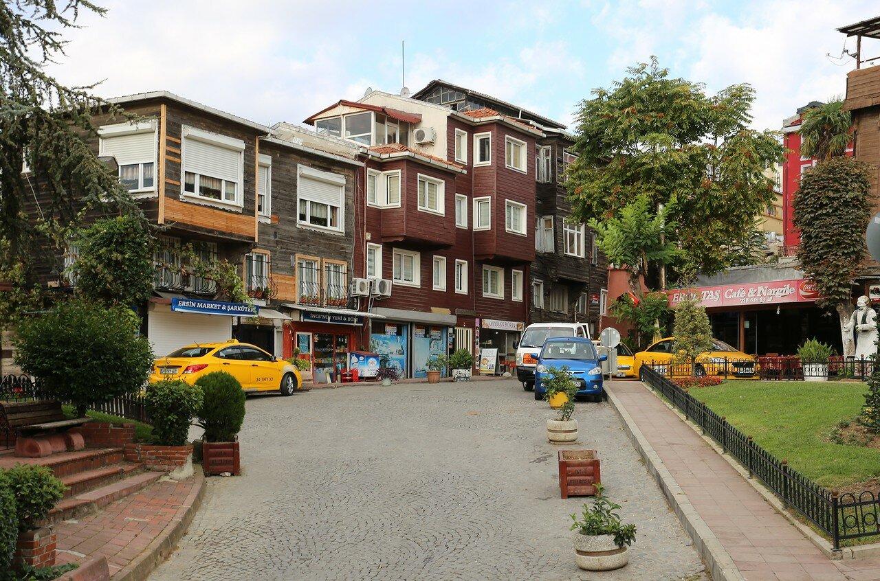 Стамбул. Площадь Чанкуртаран (Cankurtaran Meydanı)