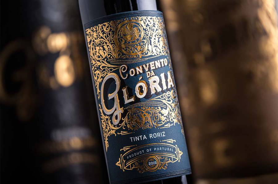 Роскошные этикетки португальского вина