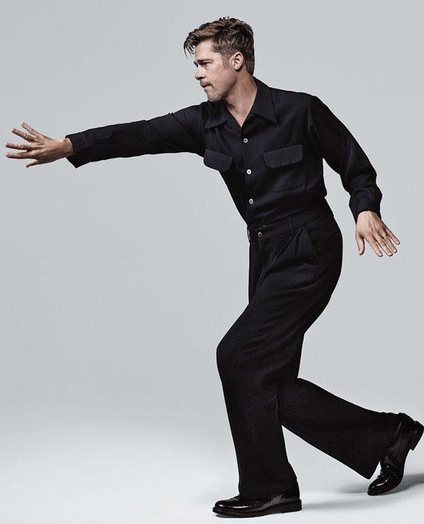 Брэд Питт в New York Times T Style