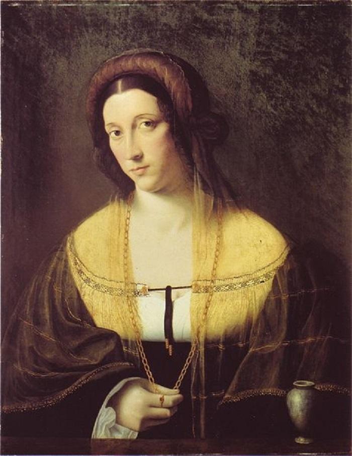 В 1483 году в возрасте 10 лет девушка была помолвлена со Стефано Висконти, но в 1487 году по неизвес