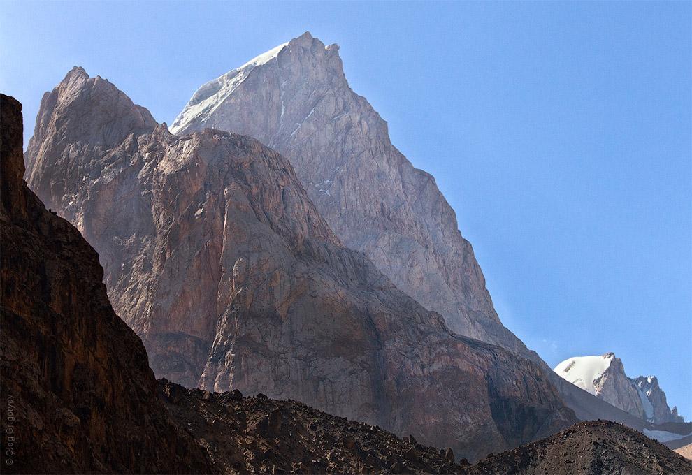 7. В Фанах находятся вершины, которые превышают пять тысяч метров. Самая высокая вершина — Чимт