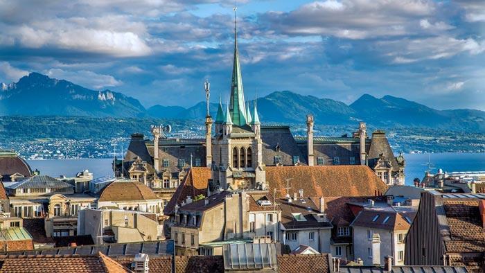5. Лозанна (ИСЖ – 233) И снова один из швейцарских городов, в котором проехаться на такси 5 миль сто